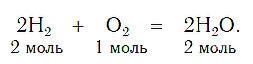 Коэффициенты химических уравнений