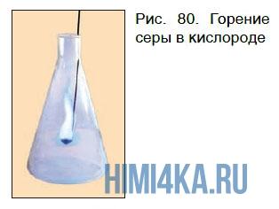 химические свойства кислорода