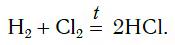 реакции водорода